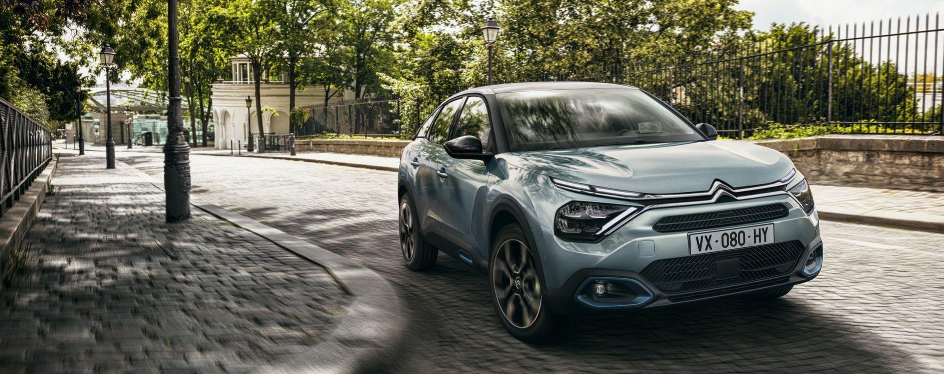 Citroën presenterar mer kring nya C4