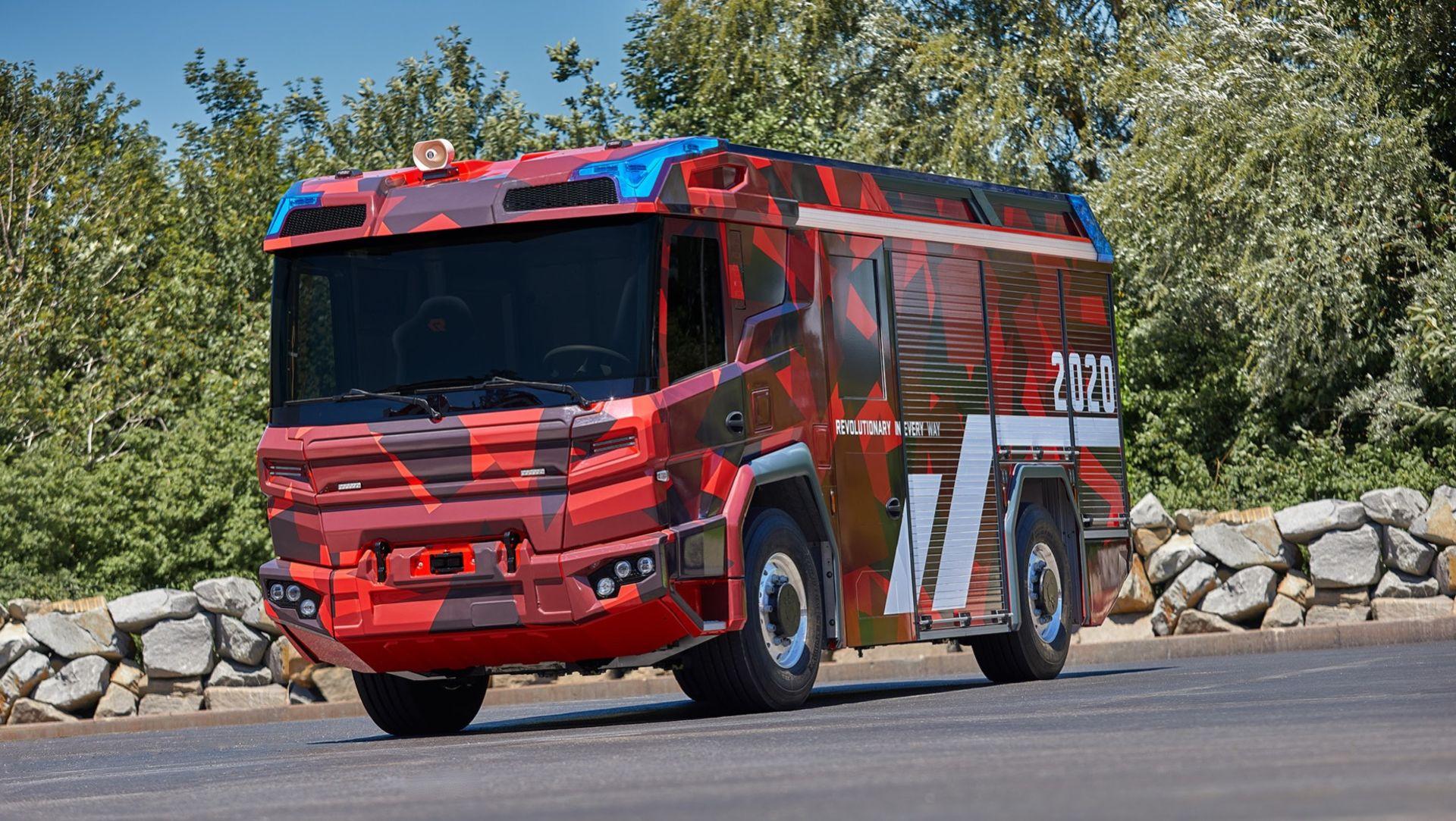 Volvo Penta tar fram eldrivlina för brandbilar