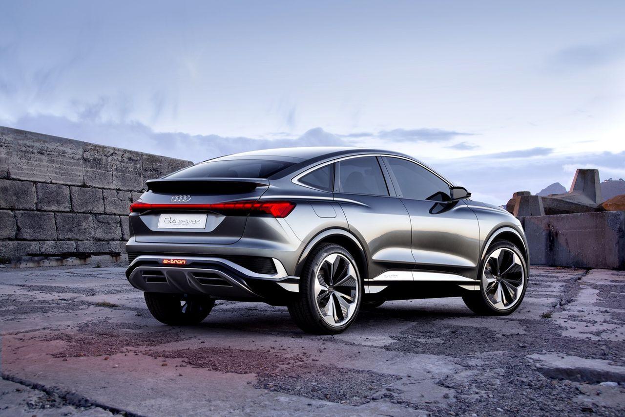 Audi presenterar Q4 Sportback e-tron concept