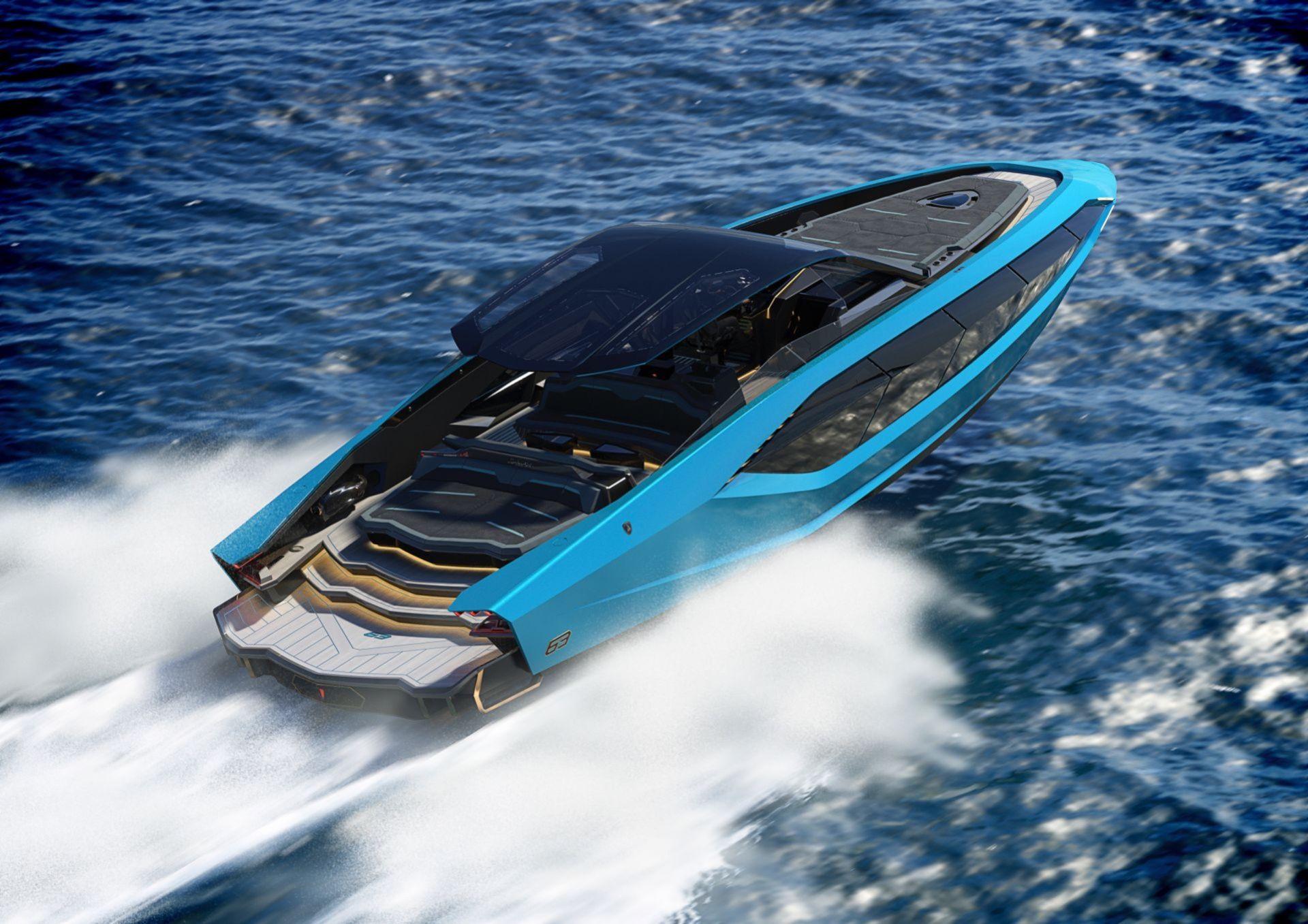 Ny båt från Tecnomar och Lamborghini