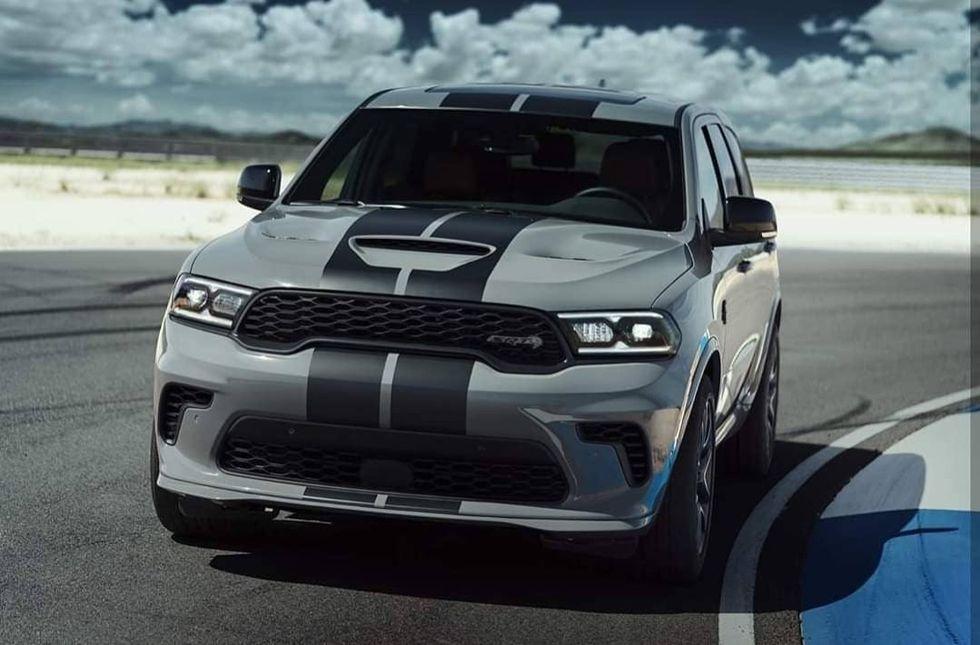 Dodge Durango SRT Hellcat läcker ut