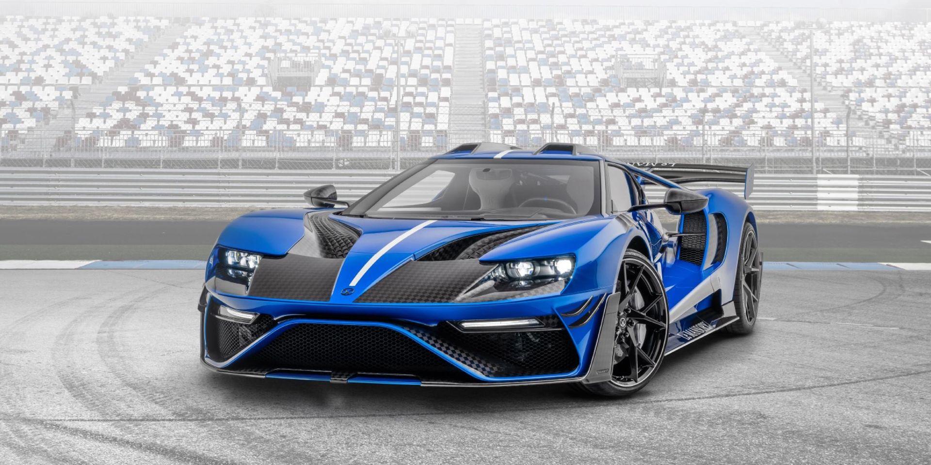 Mansory har gett sig på nya Ford GT