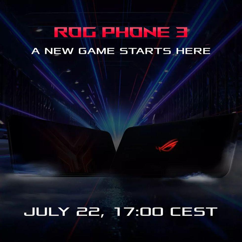 Asus presenterar ROG Phone 3 22 juli