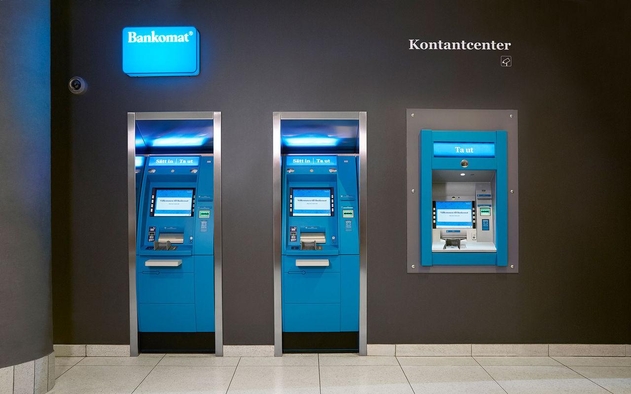 Användandet av kontanter minskar