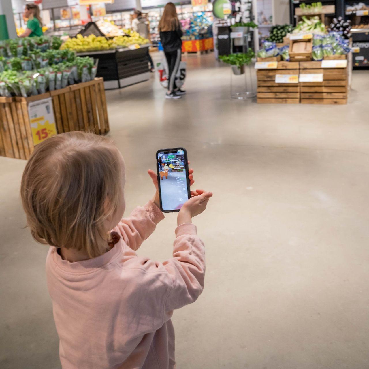 AR-spel ska göra det roligare för barn att handla