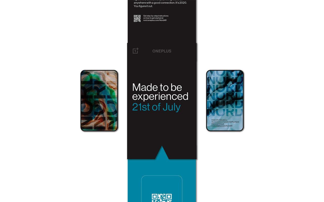 OnePlus Nord väntas visas upp 21 juli