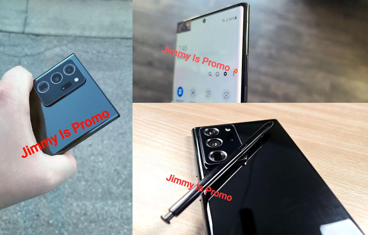 Nya bilder på Samsung Galaxy Note20 Ultra