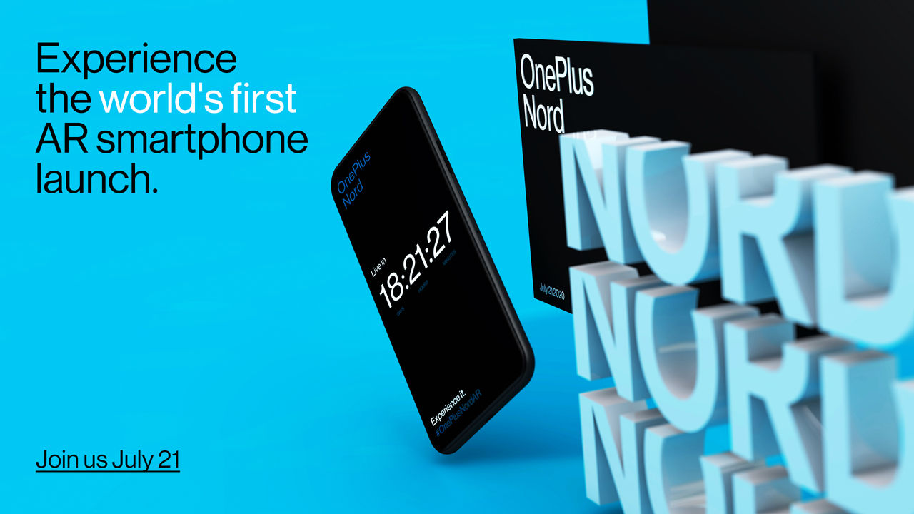 OnePlus presenterar Nord 21 juli