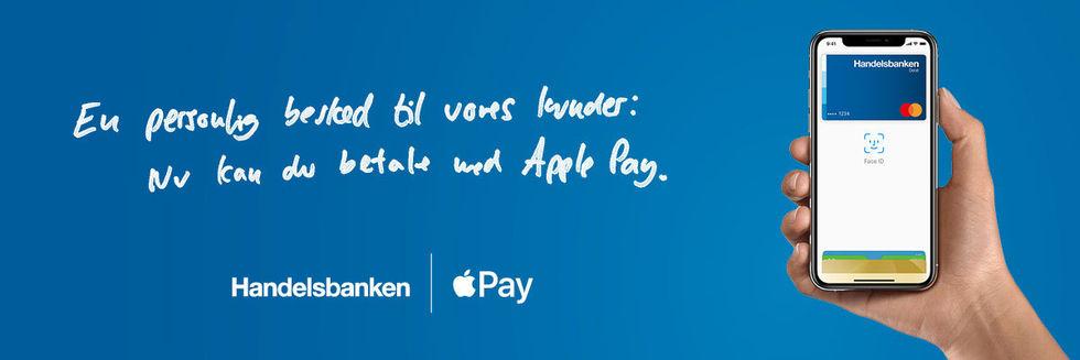 Handelsbanken Danmark igång med Apple Pay