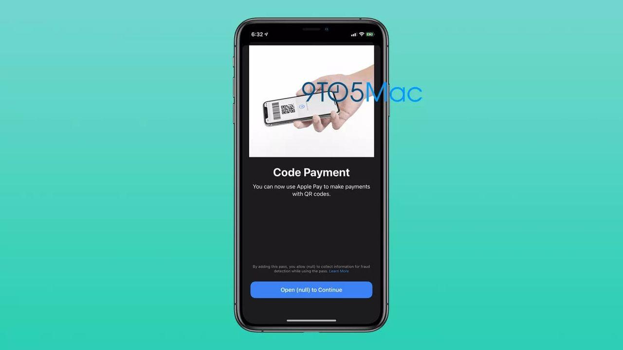 Apple vill koppla QR-koder till Apple Pay