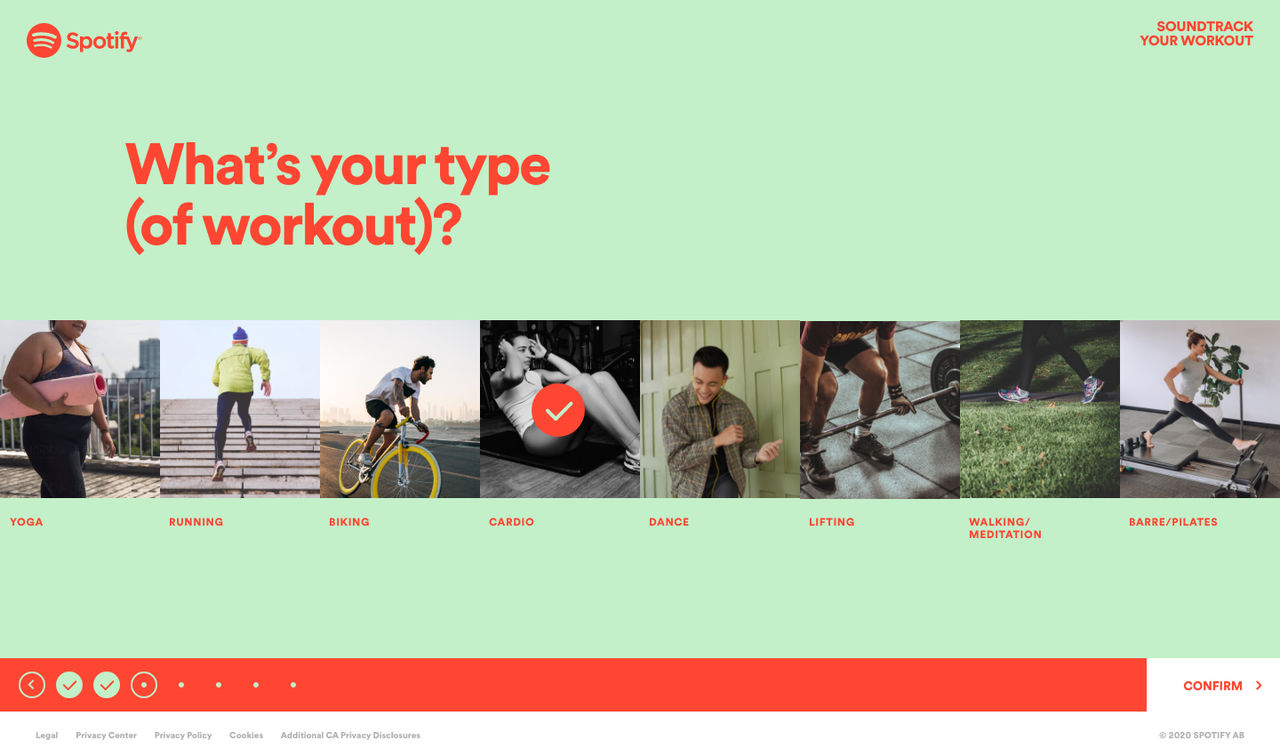 Spotify lanserar Soundtrack Your Workout