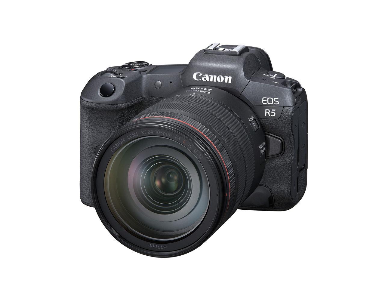 Canon presenterar EOS R5