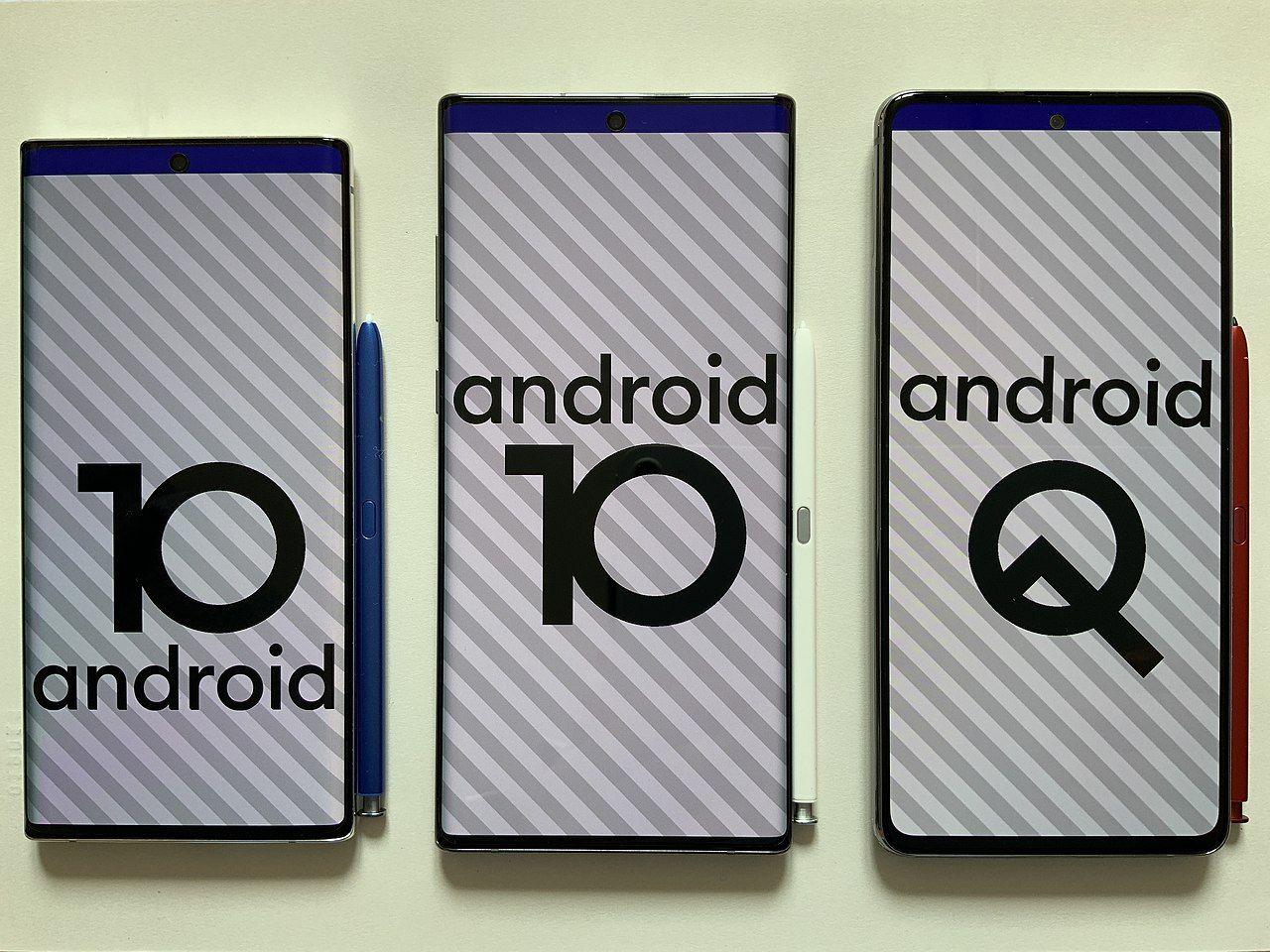 Android 10 rullar nu på 400 miljoner mobiler