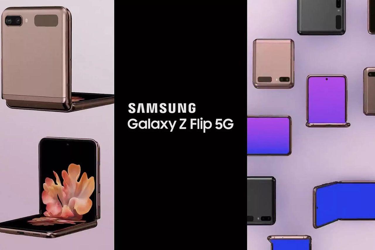 Läckt video visar Galaxy Z Flip 5G