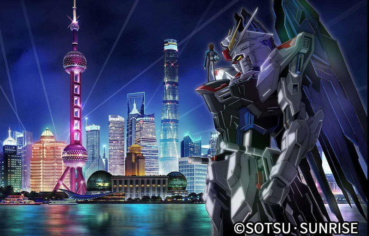 Jättestor Gundam-staty ska byggas i Kina