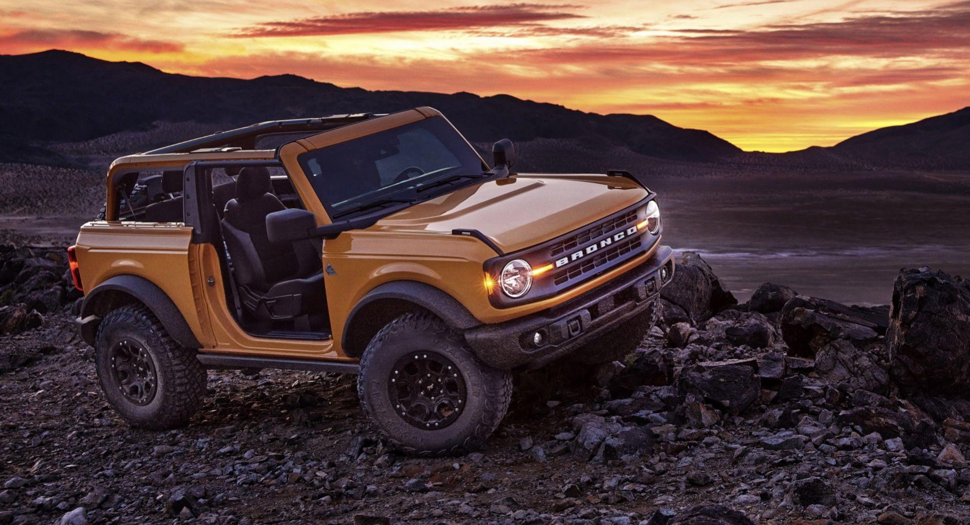 Nu är den här - nya Ford Bronco