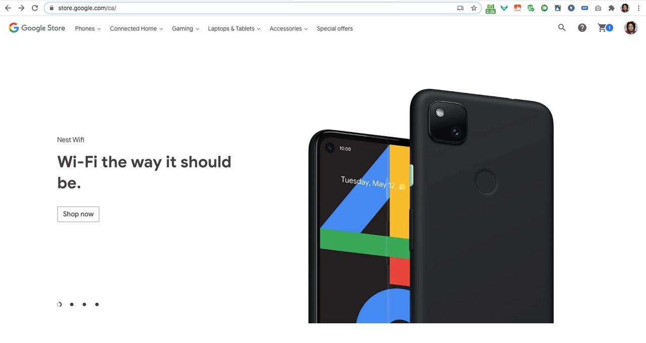 Google visar upp Pixel 4A i förtid