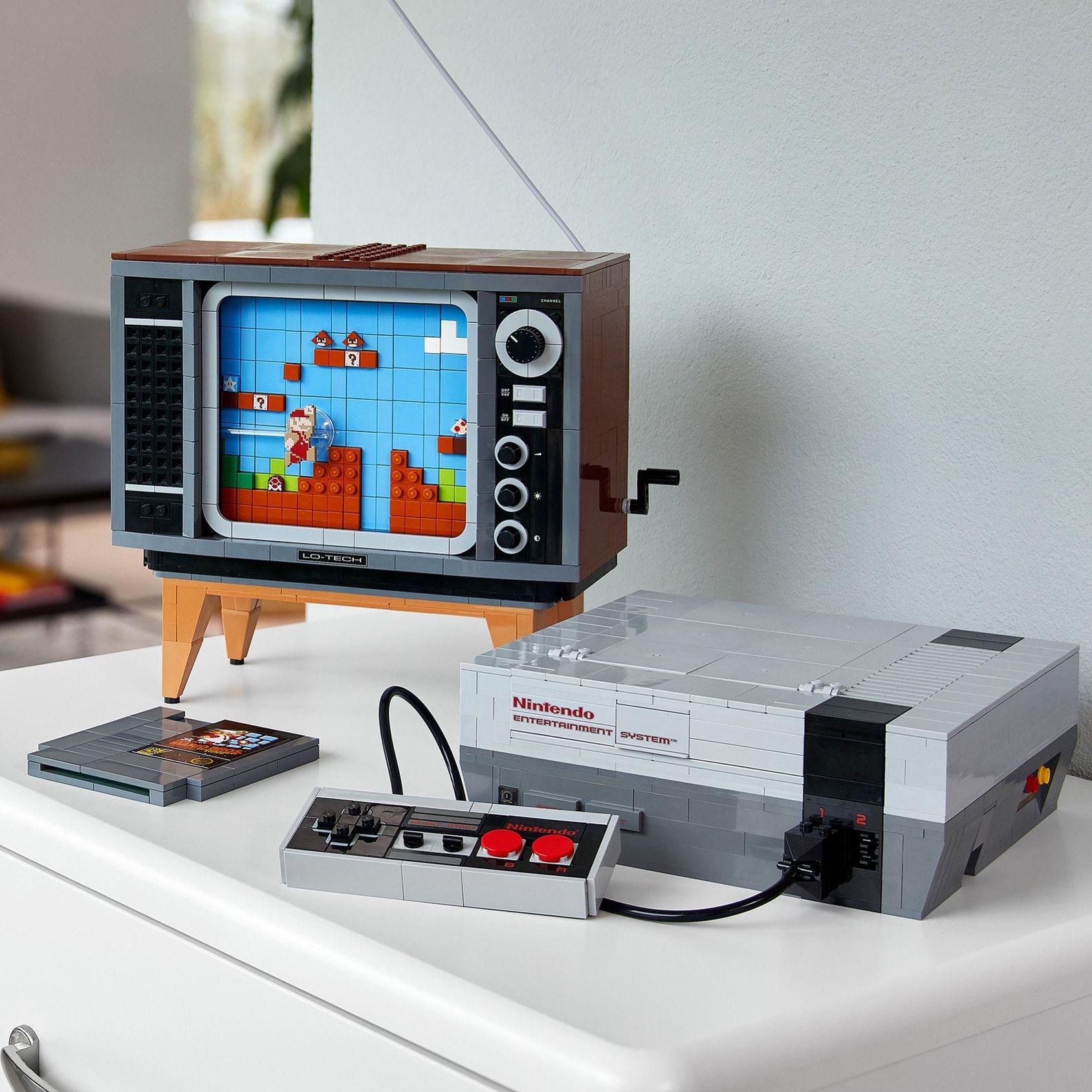 Här är Nintendo Entertainment System Lego