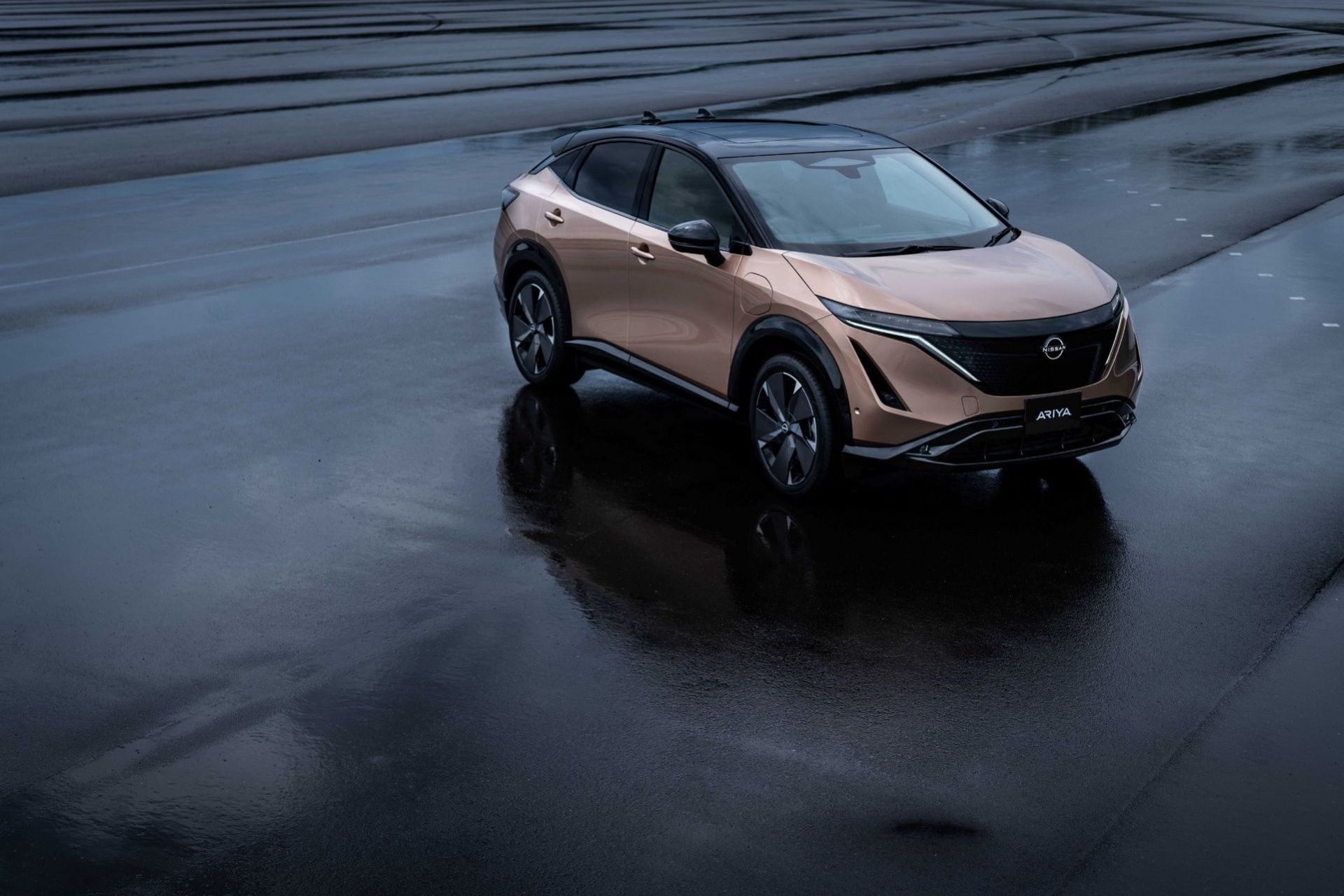 Nissan presenterar eldrivna suven Ariya