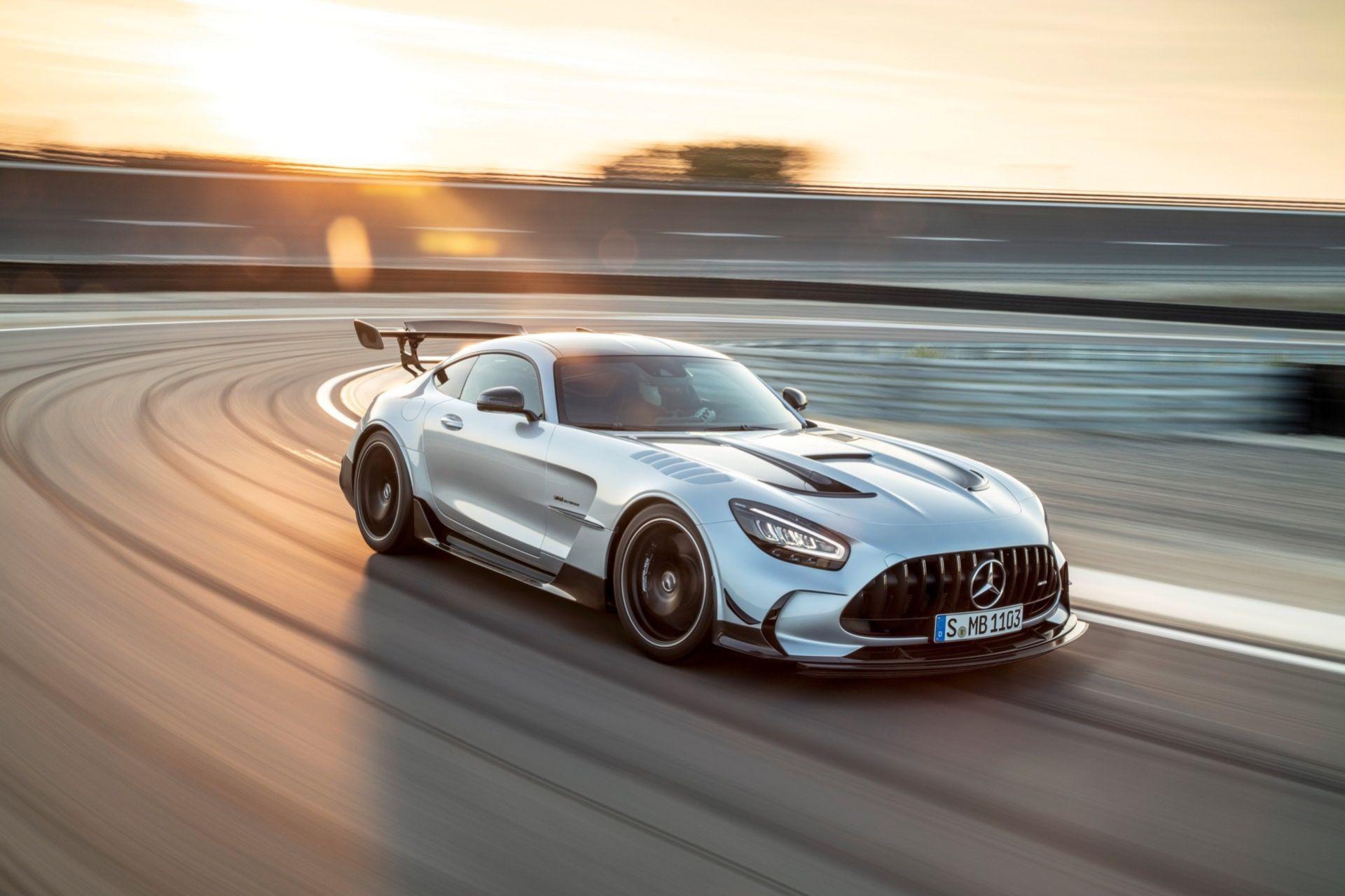 Värstingen Mercedes-AMG GT Black Series är här