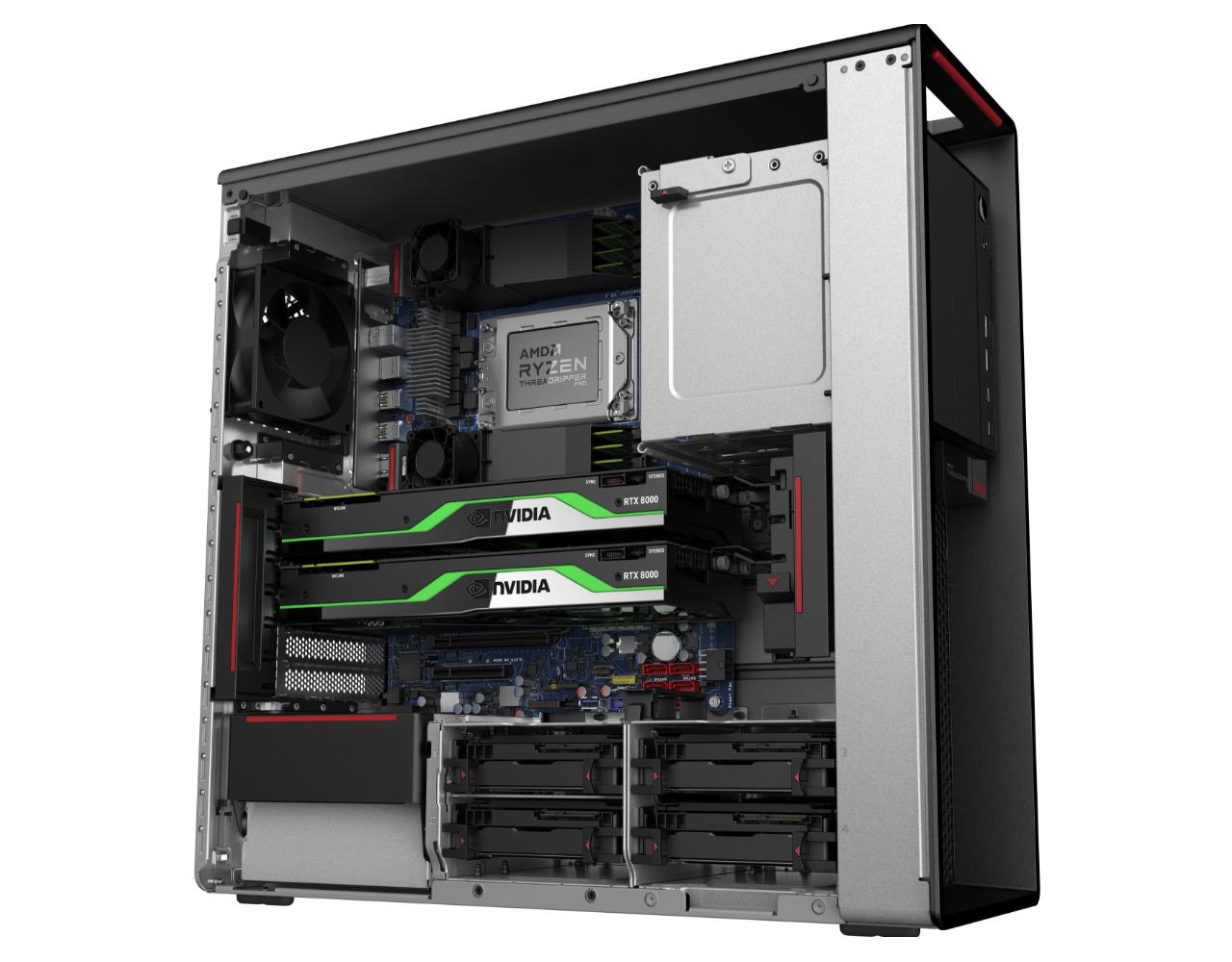 AMD släpper Ryzen Threadripper Pro tillsammans med Lenovo Monster-processor som ska konkurrera med Intel Xeon