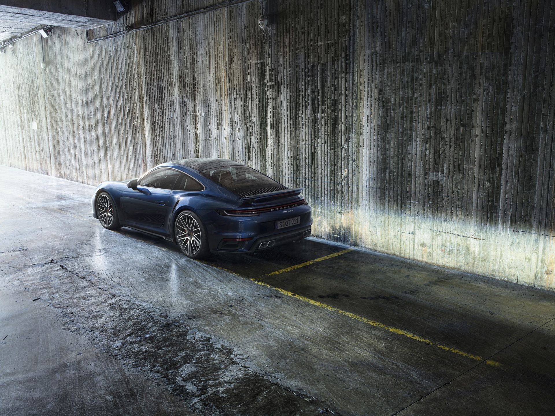 Nya Porsche 911 Turbo utan S