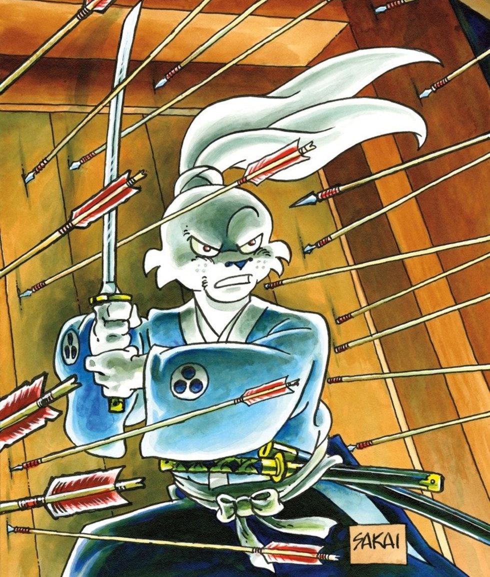 Netflix ska göra animerad tv-serie av Usagi Yojimbo