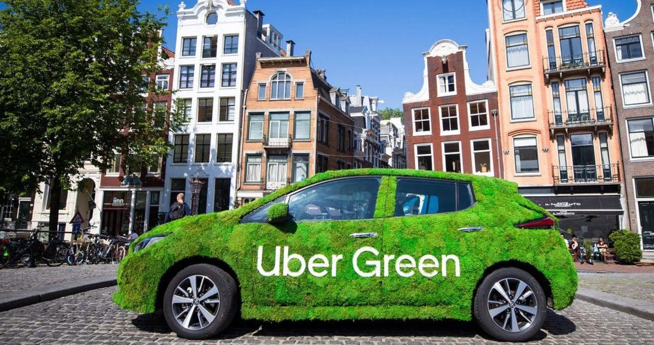 Uber Green nu även i Sverige - välj elbil och gröna transporter