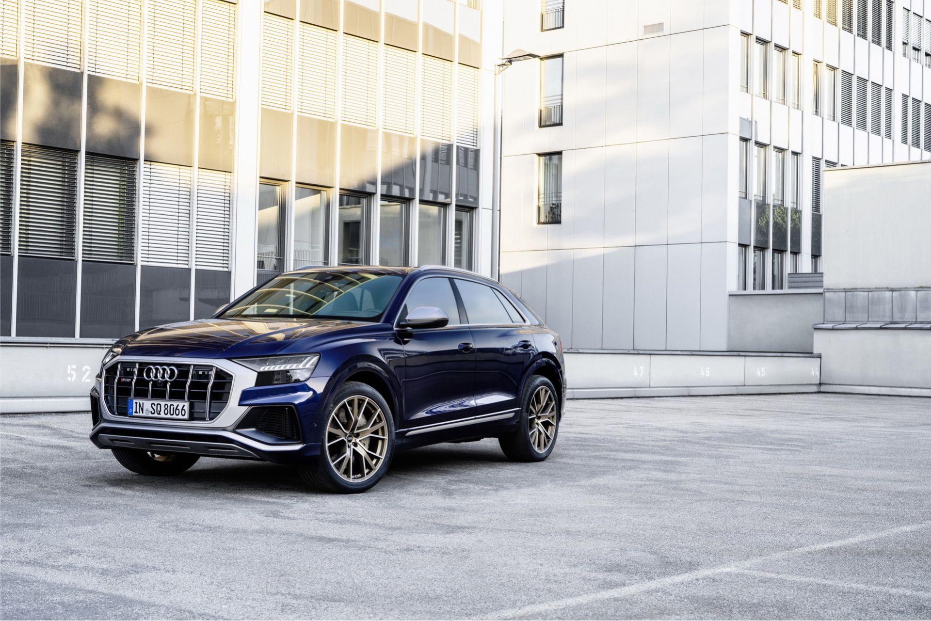 Audi SQ7 och SQ8 har nu 500 hästar stark bensin-V8:a