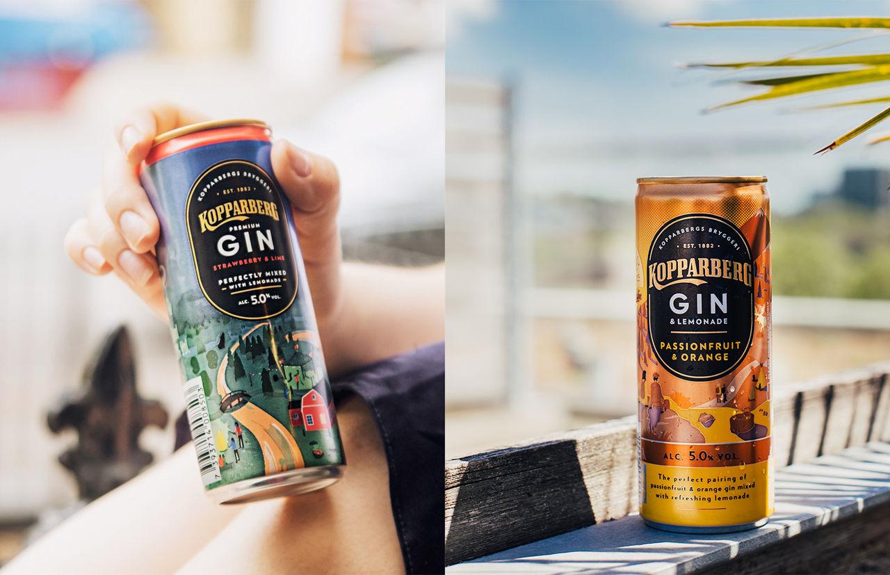 Gin&Lemonade - ny dryck från Kopparberg