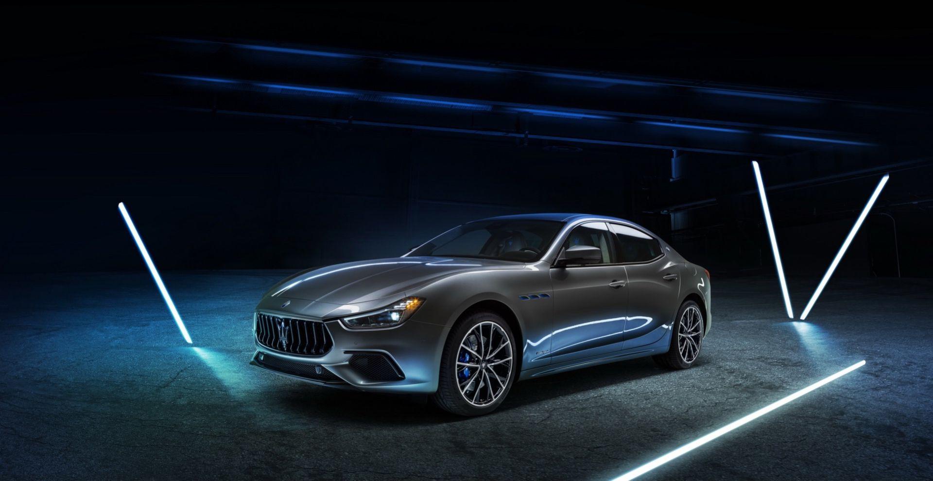 Det här är uppdaterade Maserati Ghibli