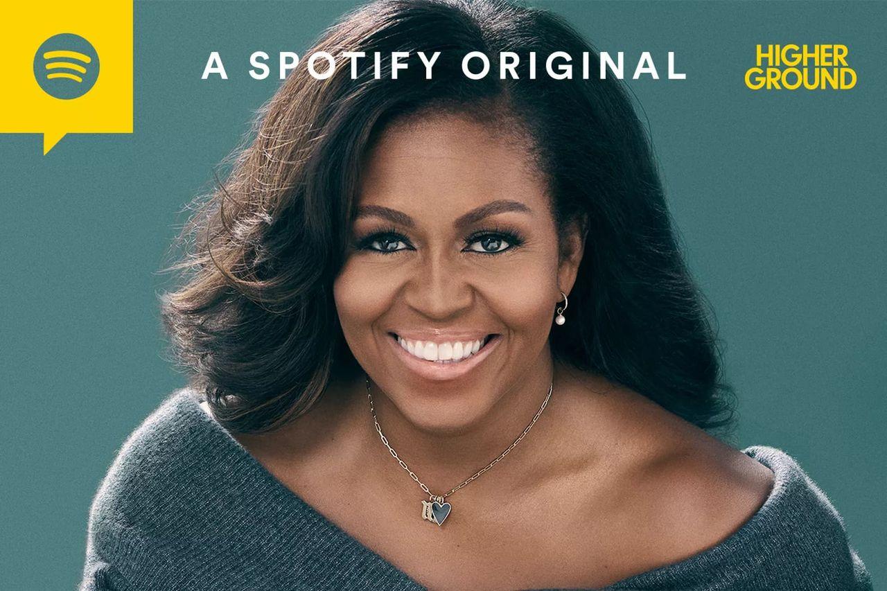 Spotify drar igång en podcast med Michelle Obama