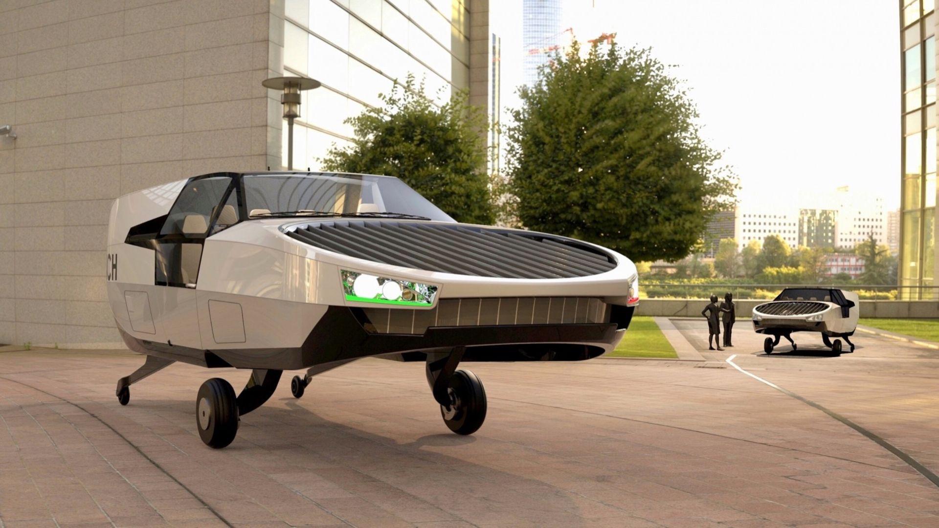 Vätgasdrivna CityHawk vill bli framtidens flygande taxi