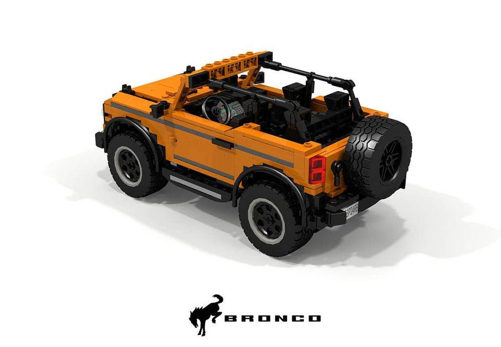 Nya Bronco i Lego-version
