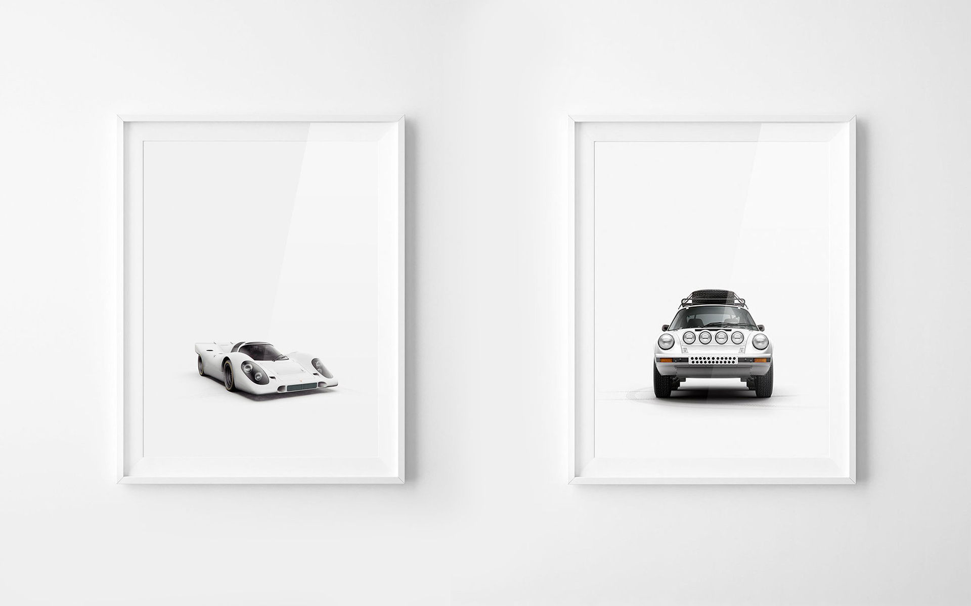 Häng en bil på väggen