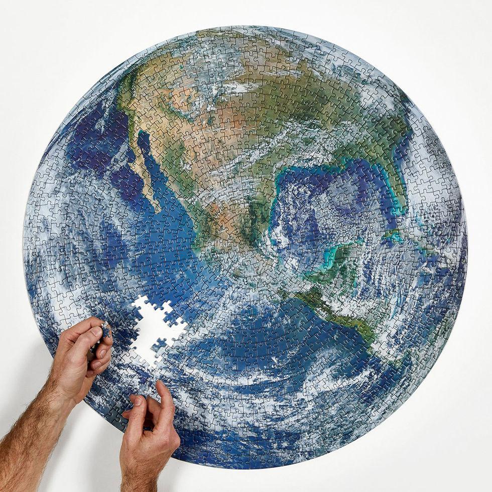 Lägg jorden som pussel