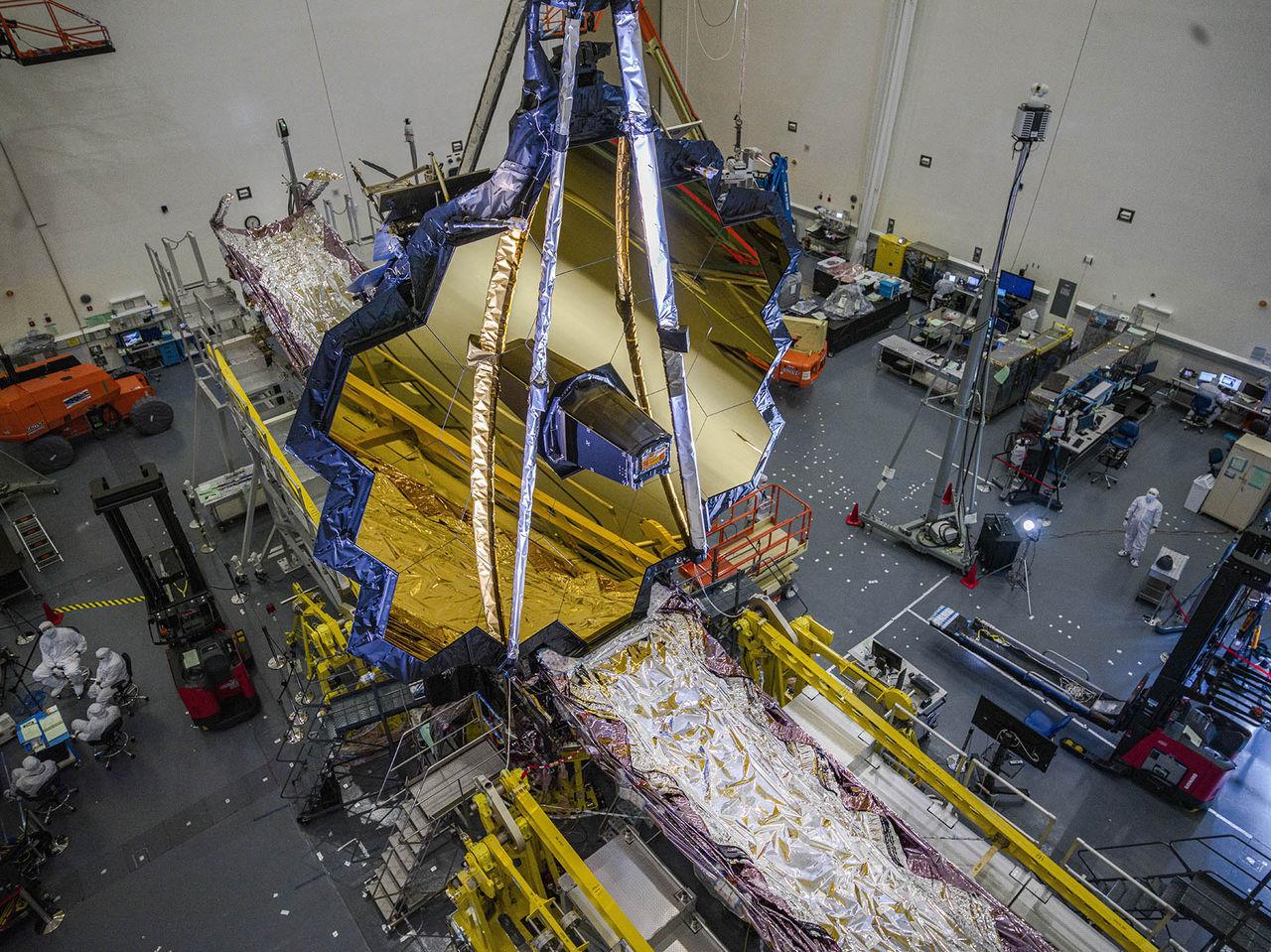 James Webb-teleskopet ska åka till rymden nästa höst