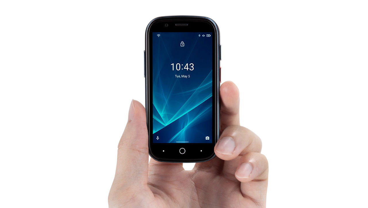 Jelly 2 är en jätteliten Android-telefon