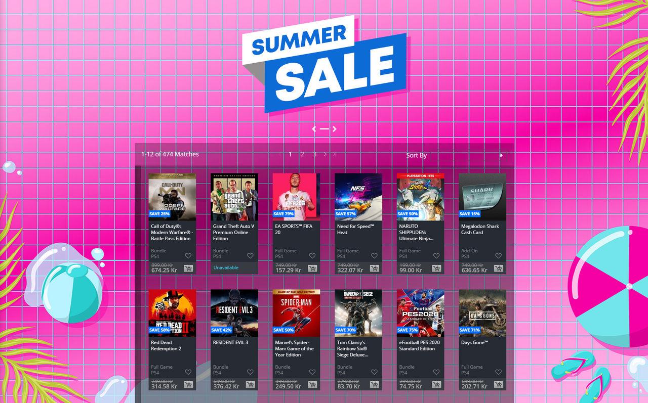 Sony drar igång stor sommarrea på Playstation Network