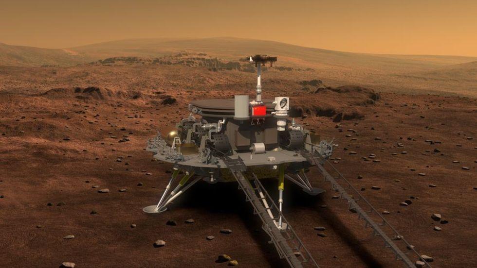 Nu åker Kina till Mars