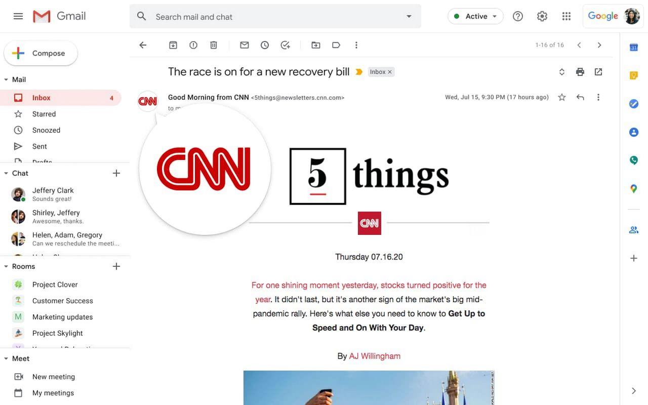 Gmail börjar visa verifierade avsändare med logotyper