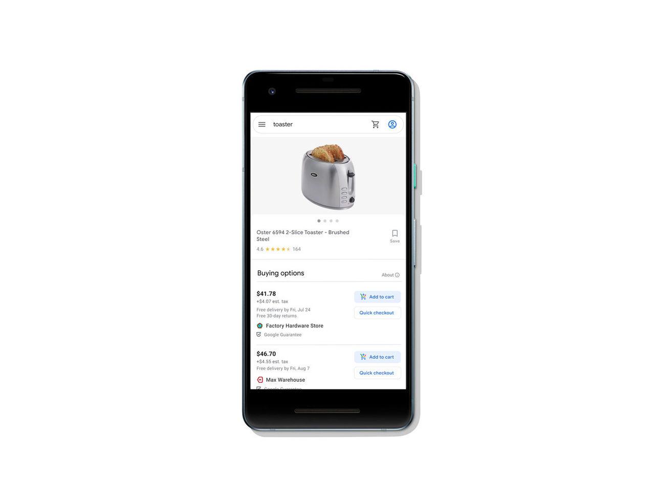 Google vill ta över vår shopping