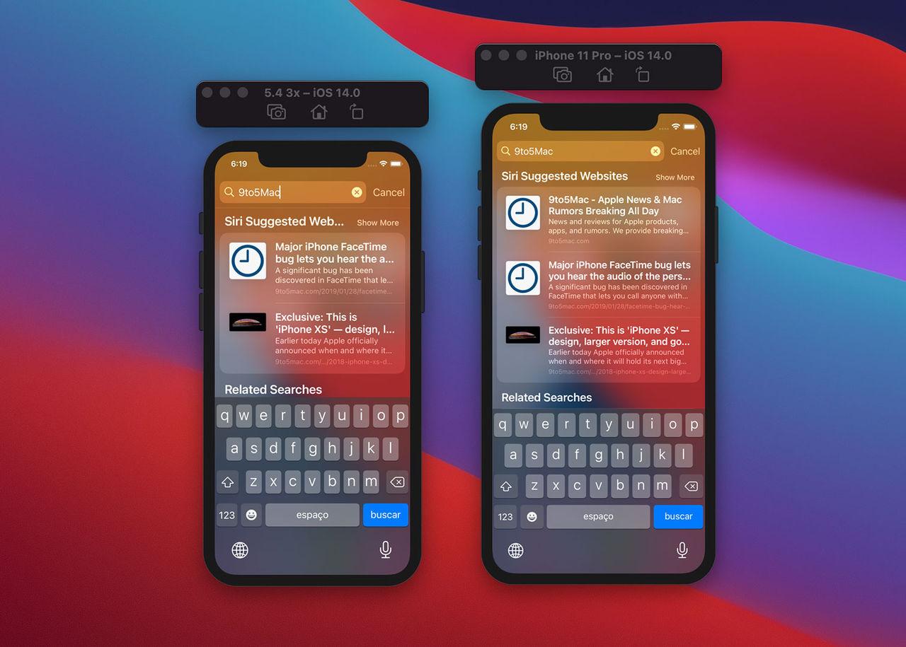 Skärmstorlek för nya, lilla iPhone 12 läckt