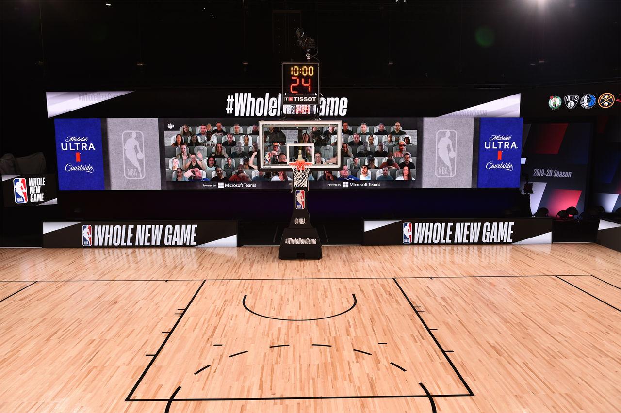 NBA tar hjälp av Microsoft Teams