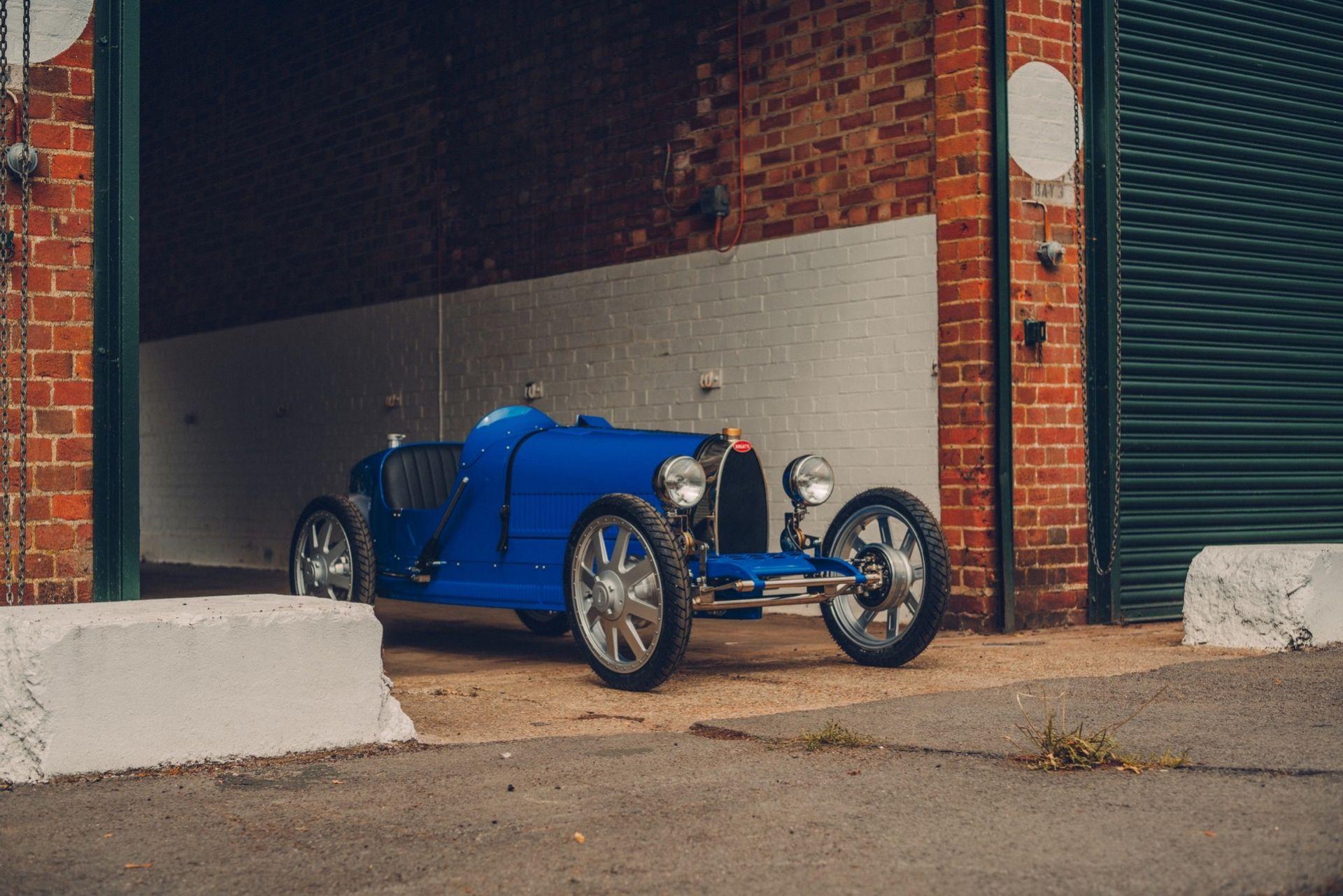 Bugatti Baby II börjar tillverkas
