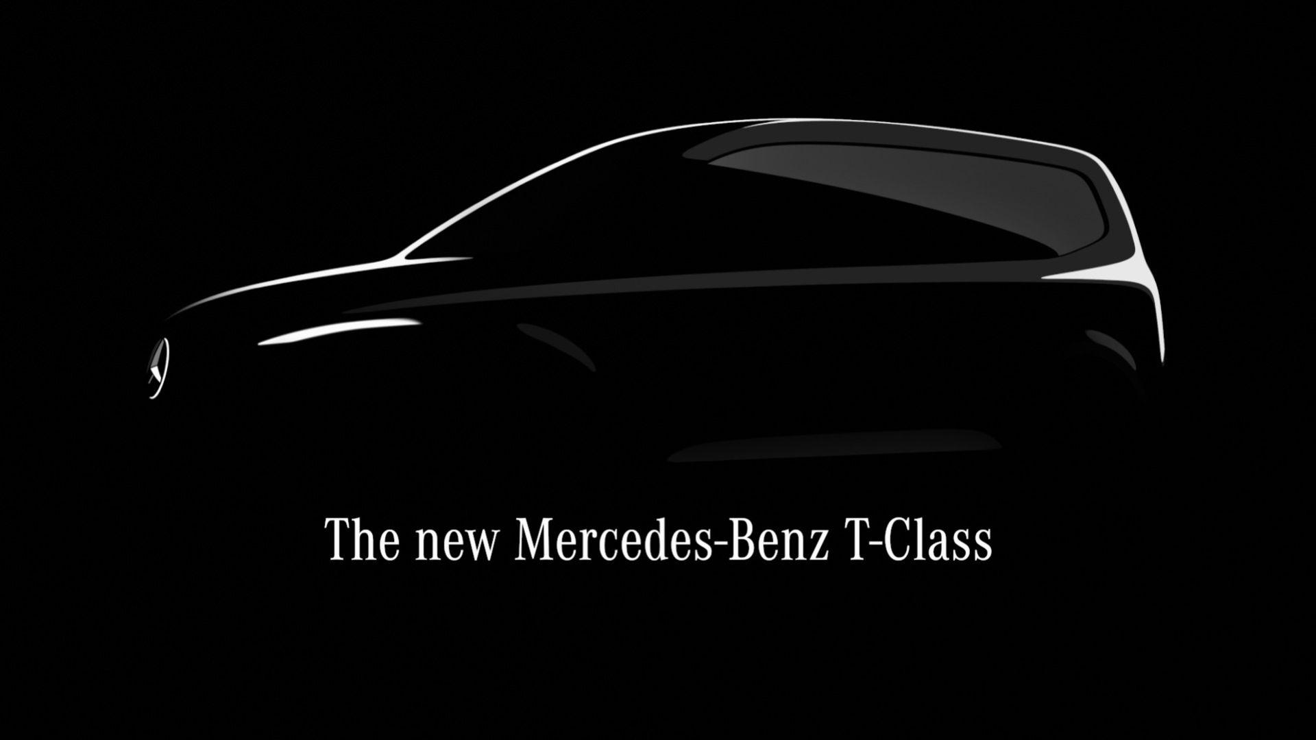 Mercedes har en ny modell på gång - T-Klass