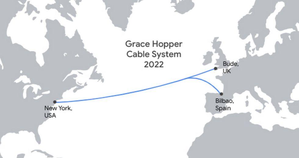 Google lägger ännu en kabel mellan USA och Europa
