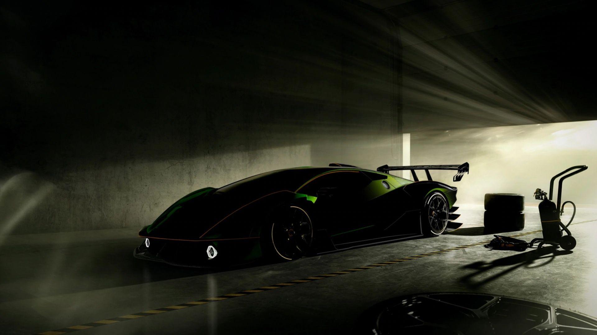 Ny teaserbild på Lamborghini SCV12