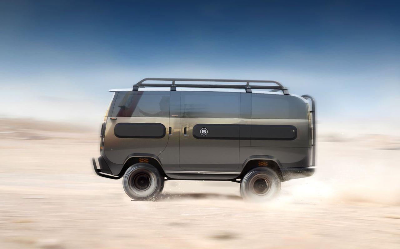 eBussy - en modulär eldriven minibuss