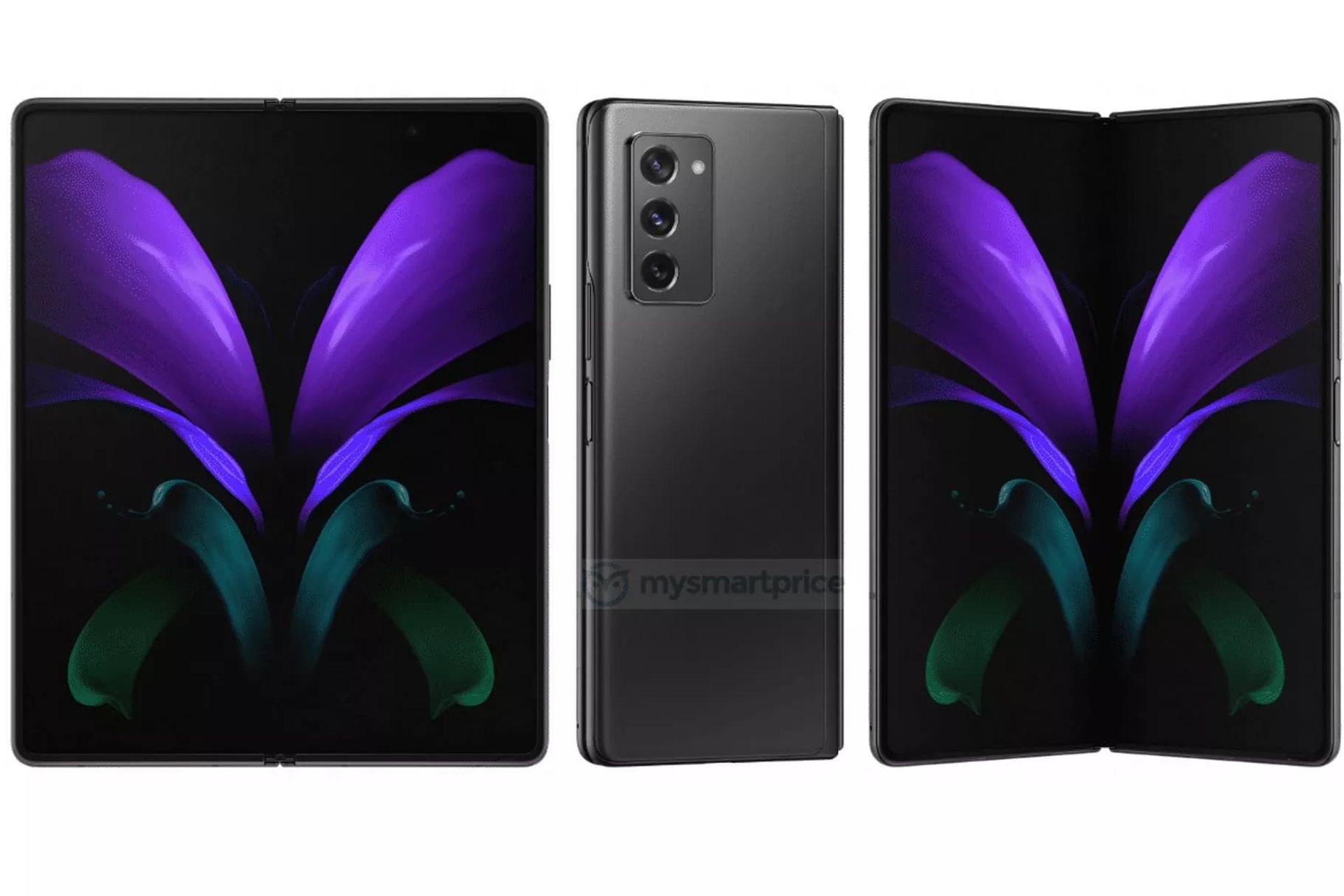 Läcka visar upp Samsung Galaxy Z Fold 2